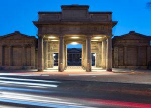 Historic Building - Propylaeum, Chester City Centre